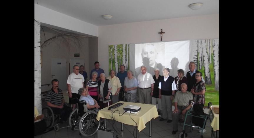 Powiększ obraz: Wykład w Domu Pomocy Społecznej w Biłgoraju