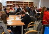 """Pokaż powiększenie powyżej: Akcja """"Zonkile"""" w Bibliotece Miejskiej w Lubaczowie"""