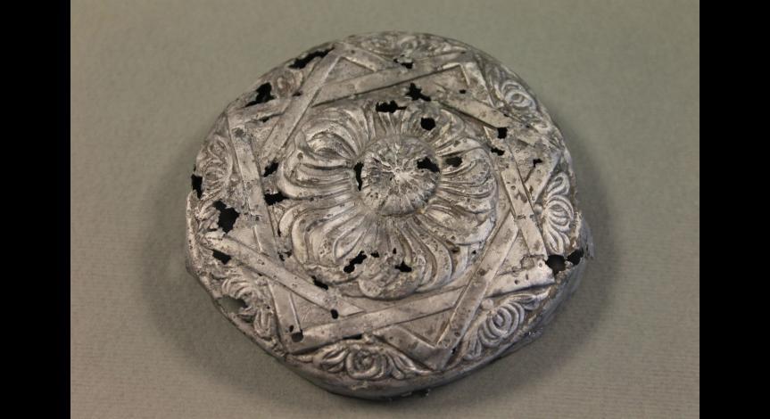 Aluminiowe wieczko z symbolem gwiazdy
