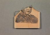 Pokaż powiększenie powyżej: Fragment lusterka ze zdjęciem dziecka