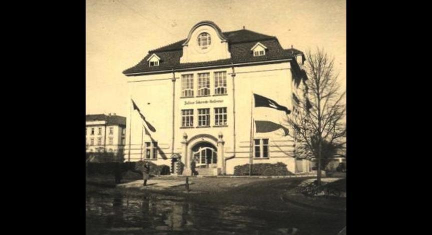 """Budynek sztabu """"Akcji Reinhardt"""""""