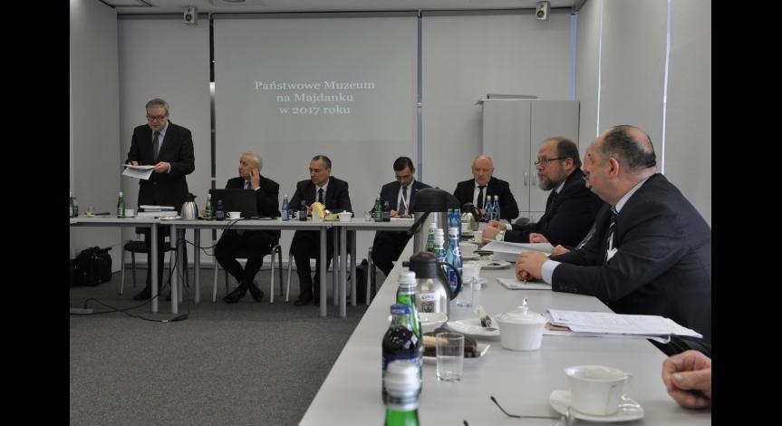 Powiększ obraz: Posiedzenie Rady Muzeum przy PMM
