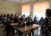 Pokaż powiększenie powyżej: Zajęcia edukacyjne w SP w Łukawicy z okazji Europejskiego Dnia Pamięci o Sprawiedliwych