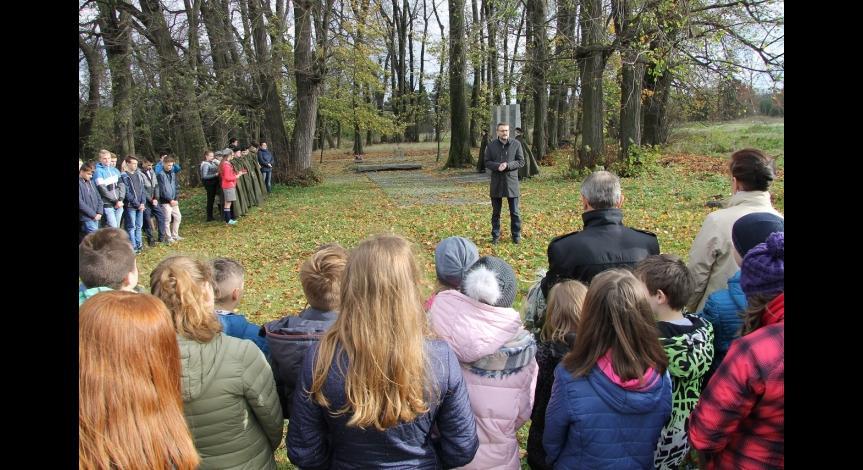 Powiększ obraz: 26 październik 2017  r. w Bełżcu