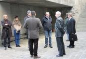 Pokaż powiększenie powyżej: Uczestnicy ogólnopolskiej konferencji naukowej zwiedzili Muzeum w Bełżcu