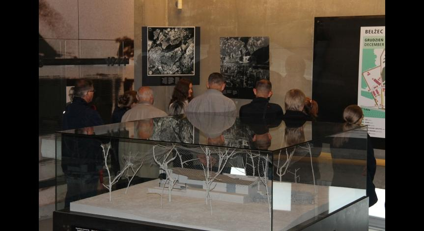 Powiększ obraz: Międzynarodowy Dzień Muzeów w Muzeum-Miejscu Pamięci w Bełżcu