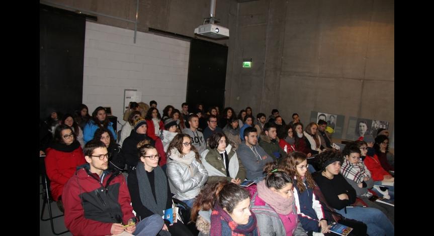 Powiększ obraz: Wizyta młodzieży z Włoch