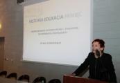 """Pokaż powiększenie powyżej: I Seminarium """"Historia-Edukacja-Pamięć"""", dr hab. Elżbieta Rączy"""