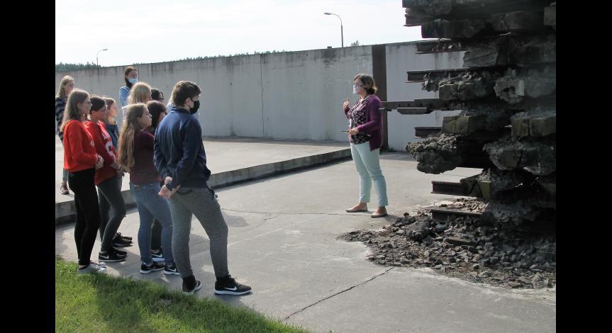 wizyta uczniów ZS w Siedliszczu