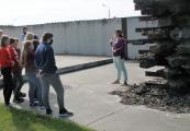 Pokaż powiększenie powyżej: wizyta uczniów ZS w Siedliszczu