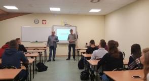 Zajęcia edukacyjne w Zespole Szkół…